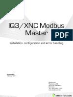 XNC Modbus Master