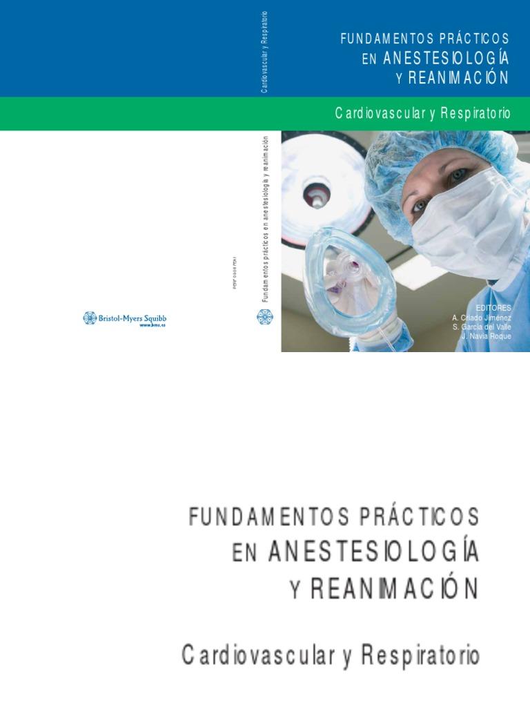 Fundamentos prácticos en Anestesiología y Reanimación ...
