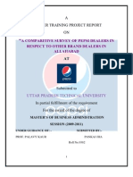Pepsi Project Report