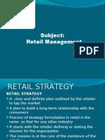 Retail-strategy Unit 10