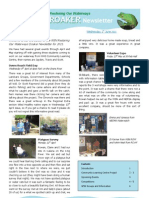 Croaker Newsletter - June 2011