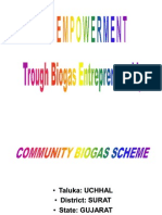 Entrepreneurship Models on Biogas for Rural Areas
