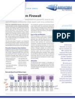 Barracuda Spam Firewall Datasheet 200503011