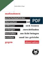 Maßnahmen gegen Observation