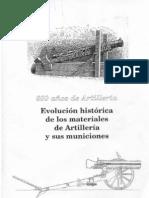 600 años de Artillería (folletos del Museo del Ejército)