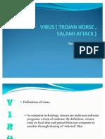 Virus trojan horse and salami attack. |authorstream.