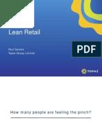 Topaz Lean Retailing