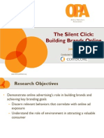 OPA ComScore-Online Brand Building Study-2009
