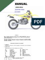 Suzuki DR-Z400E (2000-2004) Parts Catalogue