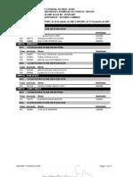 Aprovados 2ª Chamada Vestibular UESPI 2007 - Regime Regular
