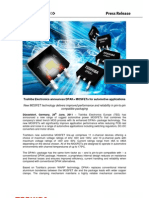 New DPAK+ MOSFETS for Automotive Applications