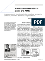 Biometric Authentication in Relation to Payment Systems