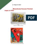 M F Hussain Paints