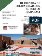 Cartel Jornadas 2011 HARO