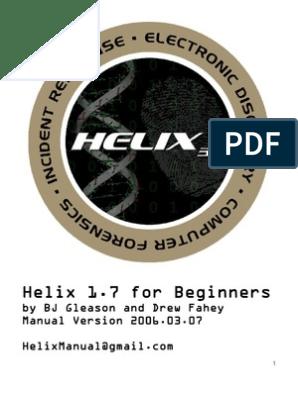 Helix3 Manual | Usb Flash Drive | Secure Digital