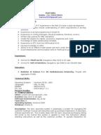 sample pl sql developer cover letter
