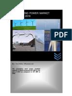 Brazil Wind Power Market Outlook 2016 - Sample