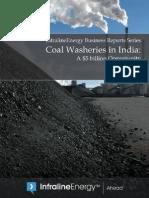 Coal washeries in India_Infraline Energy