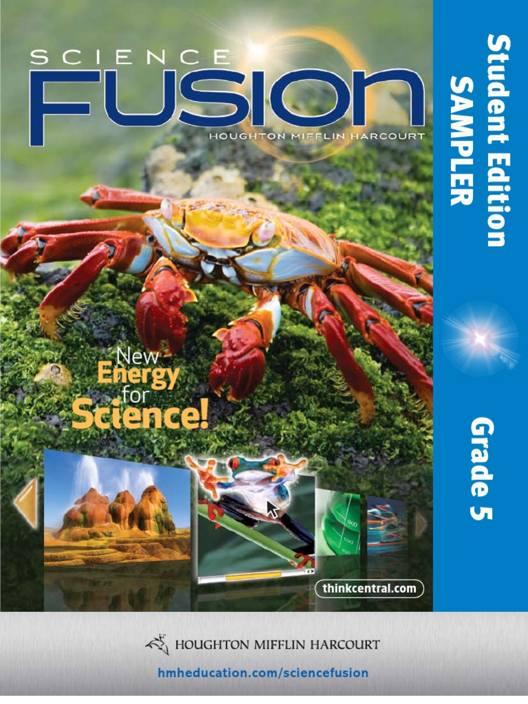 Harcourt Science Grade 5 Answer Key on Florida Science Fusion Grade 8