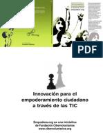 Innovación Empoderamiento Ciudadano a través de las TICs
