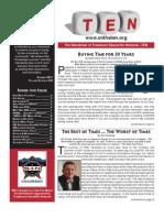 TEN Newsletter Summer 2011