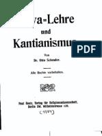 Schrader, Mayalehre und Kantianismus