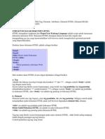 HTML Dasar