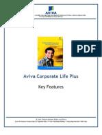 Aviva Corporate Life Plus_Key Features