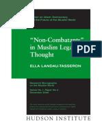 Non-Combatants in Islamic Law of War-Landau-Tasseron