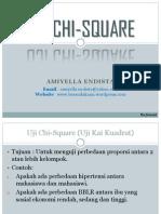 Uji Chi Square Baru