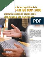 Aplicacion Del Diagrama de Ishikawa a La Justificacion de Los Requisitos de La ISO 9001. 2004