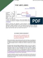 Vocabulário de Inglês Semelhanças e Contrastes com o Português