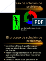 El Proceso de Solución de Problemas