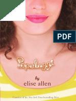Populazzi by Elise Allen (Excerpt)