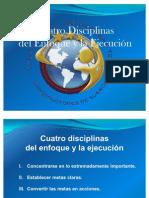 4 disciplinas del enfoque y la ejecución