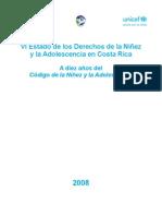 VI Estado de los Derechos de la Niñez - UCR