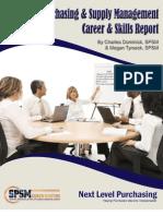 2009 Purchasing & Supply Chain Career & Skills Report