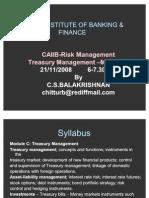 Risk Management & Treasury Management