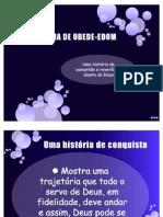 A HISTÓRIA DE OBEDE-EDOM
