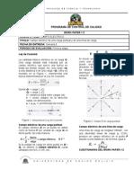 Work Paper # 2 Electromagnetismo (ParteI)