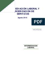 intermediacion y tercerización laboral