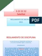 Reglamento de disciplina 3 22 22 22