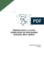 Pauta Para El Analisis de La Persona Bajo La Lluvia