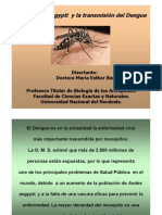 El Aedes Aegypti y La Transmision Del Dengue