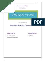 Trends in IMC-Marketing