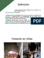 Diapositiva de Abuso Sexual