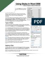 Office 2008 MAC Shortcuts