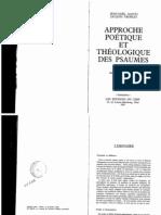ALETTI – TRUBLET-Approche poétique et théologique des Psaumes-1983