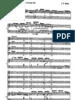 Alleluya Cantata 142 Jsbach