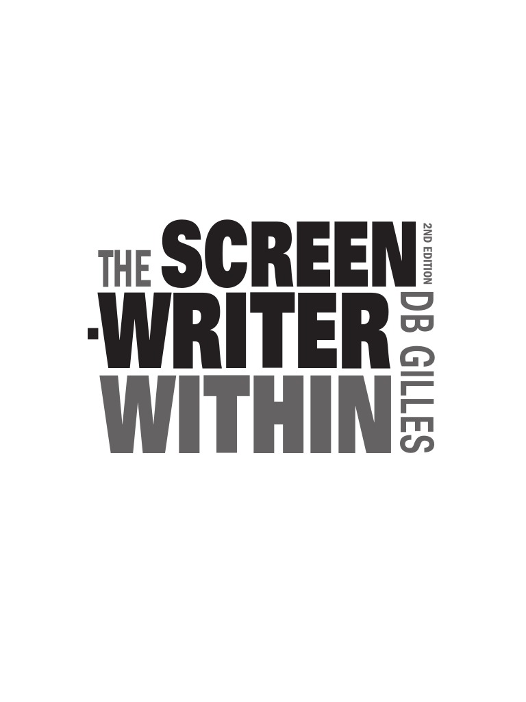 The screenwriter within sample pdf screenwriter screenplay fandeluxe Image collections